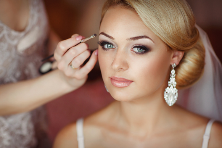 6). Bridal Make-Up